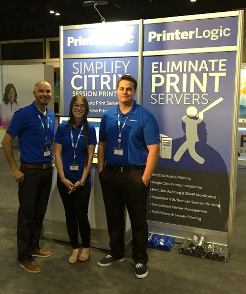 Citrix Synergy 2015 PrinterLogic Team