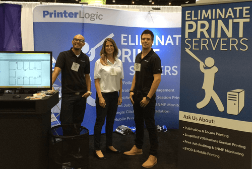 HIMSS 2015 PrinterLogic Team