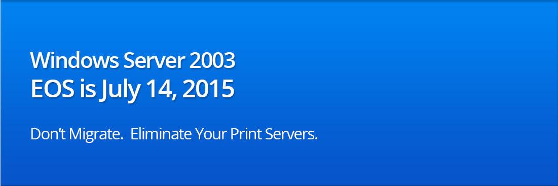 Windows Server 2003 EOS | Migrate Printers from Windows