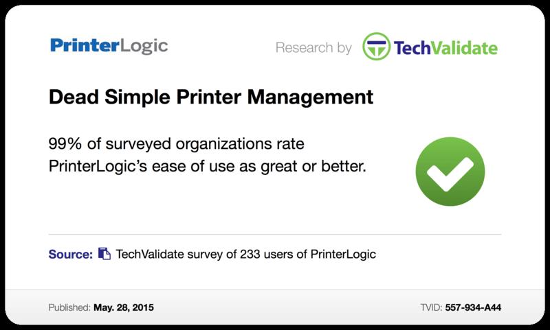 Dead Simple Printer Management
