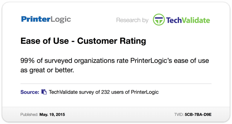 Ease of Use - Customer Rating