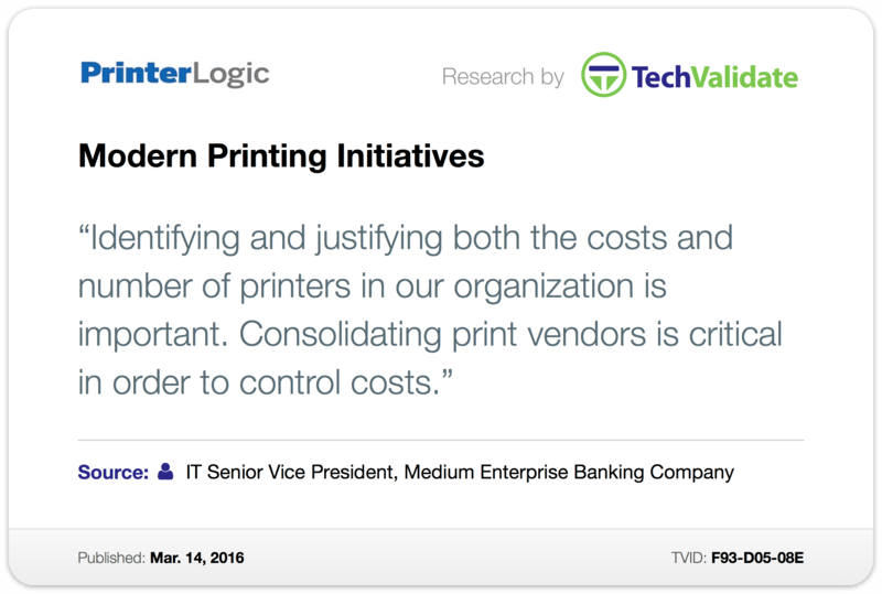 Modern Printing Initiatives